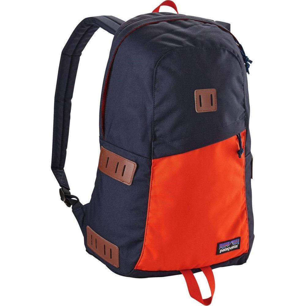 パタゴニア レディース バッグ バックパック・リュック【Ironwood 20L Backpack】Navy Blue/Paintbrush Red