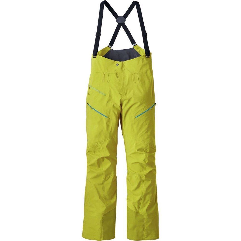 パタゴニア レディース スキー・スノーボード ボトムス・パンツ【Powslayer Bib Pant】Fluid Green