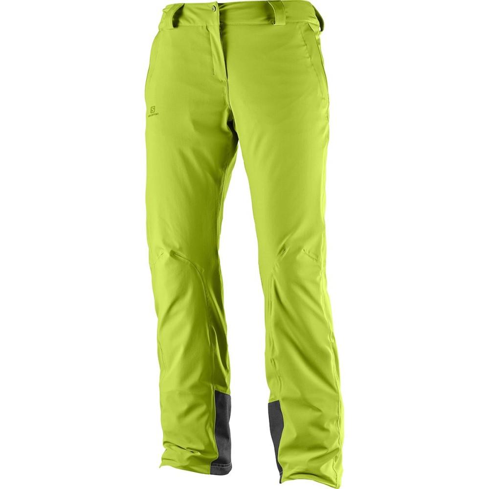 サロモン レディース スキー・スノーボード ボトムス・パンツ【Icemania Pant】Acid Lime