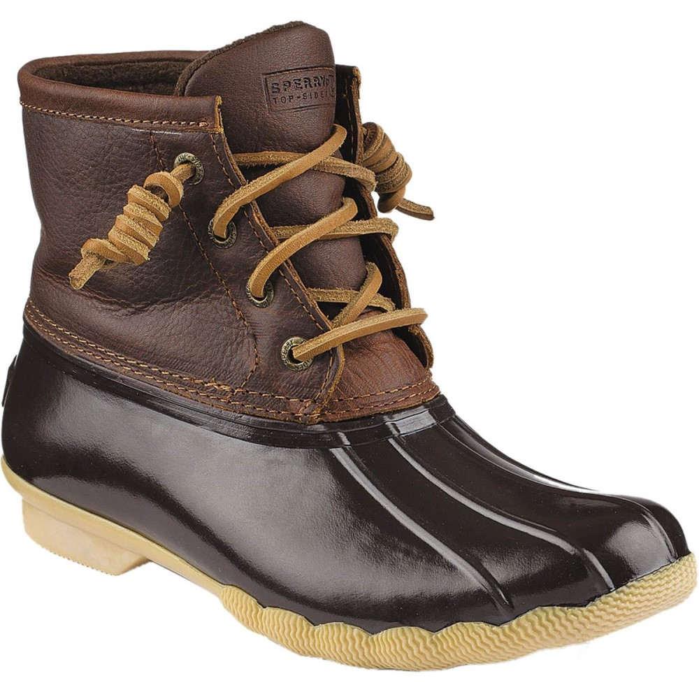 スペリー レディース スキー・スノーボード シューズ・靴【Saltwater Core Boot】Tan/Dark Brown