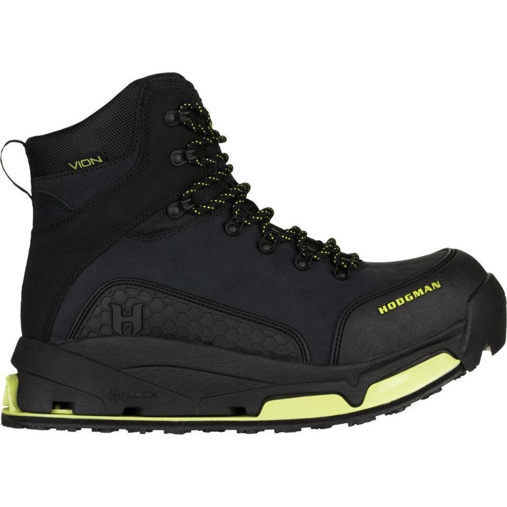 ホッジマン メンズ 釣り・フィッシング シューズ・靴【Vion H - Lock Wade Boot】Black Nubuck Leather-Wade Tech/Felt