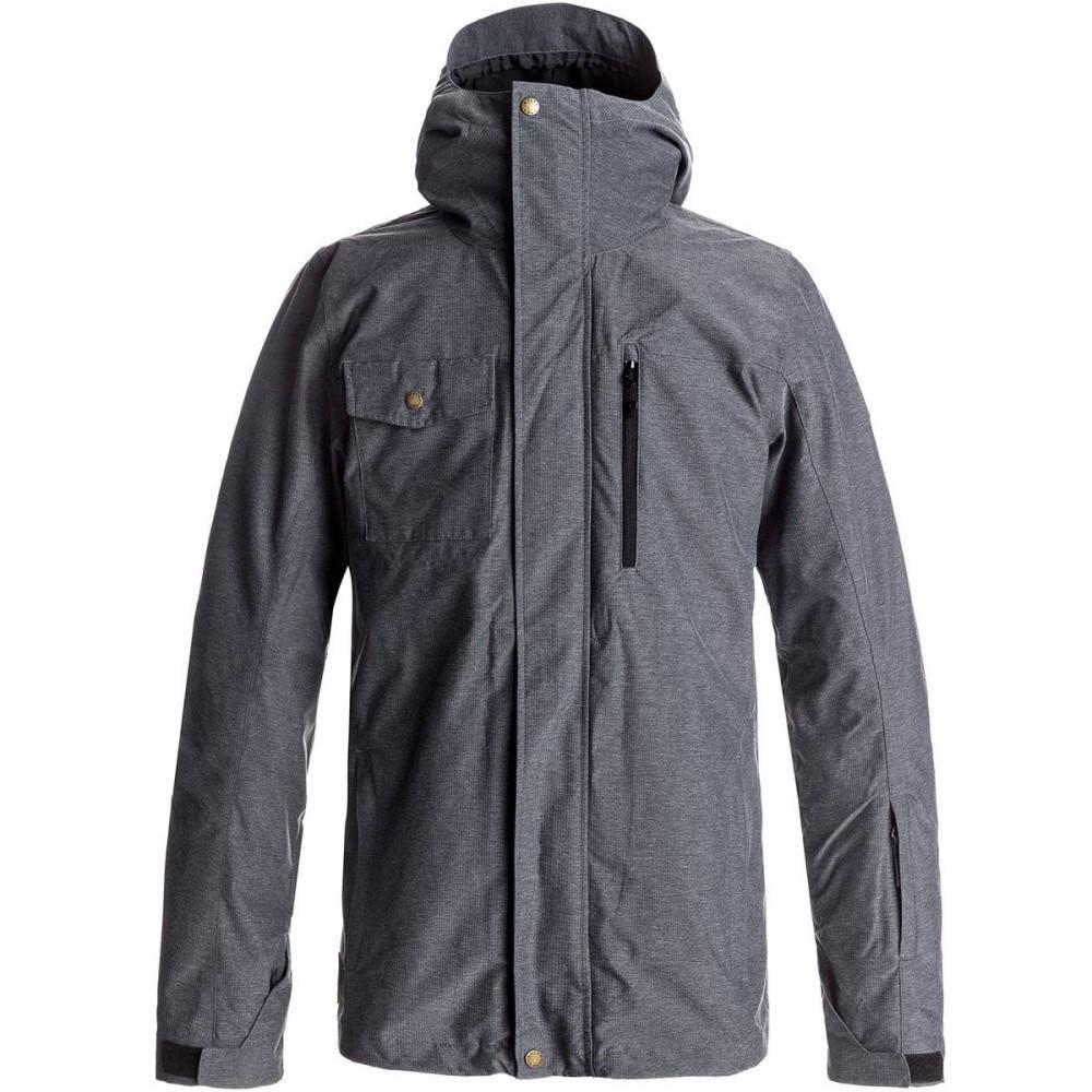 クイックシルバー メンズ スキー・スノーボード アウター【Mission 3 - In - 1 Hooded Jackets】Black