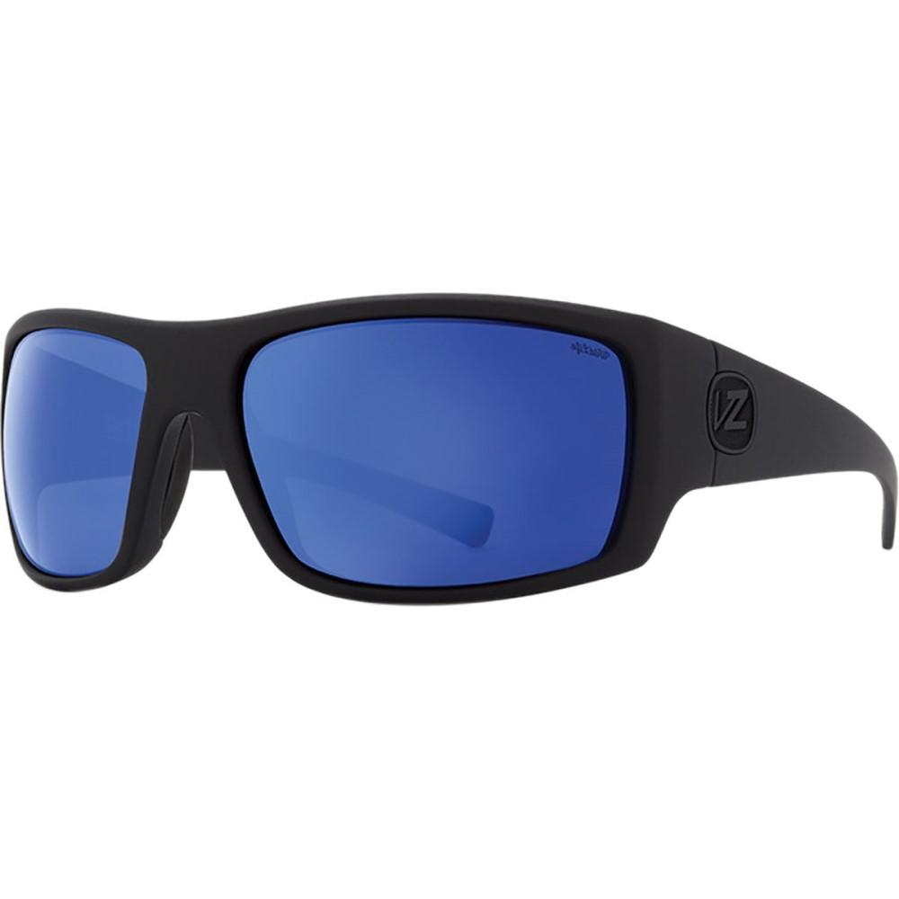 ボンジッパー レディース メガネ・サングラス【Suplex Wildlife Sunglasses - Polarized】Black Satin/Wild Blue Flash Polar