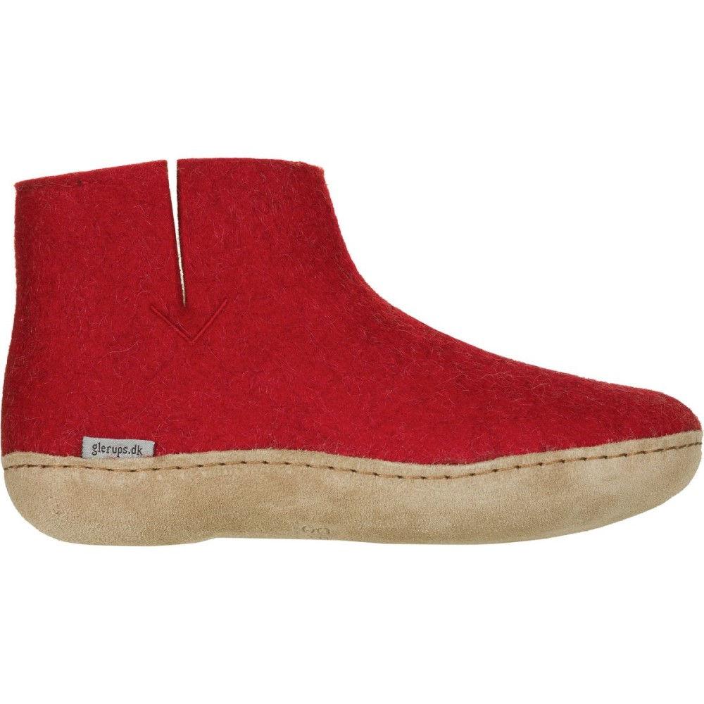グリオプス メンズ シューズ・靴 スリッパ【Boot Slipper】Red