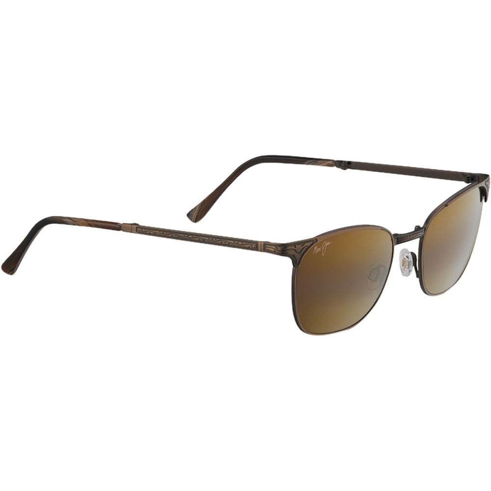 マウイジム レディース メガネ・サングラス【Stillwater Sunglasses - Polarized】Antique Gold/Hcl Bronze