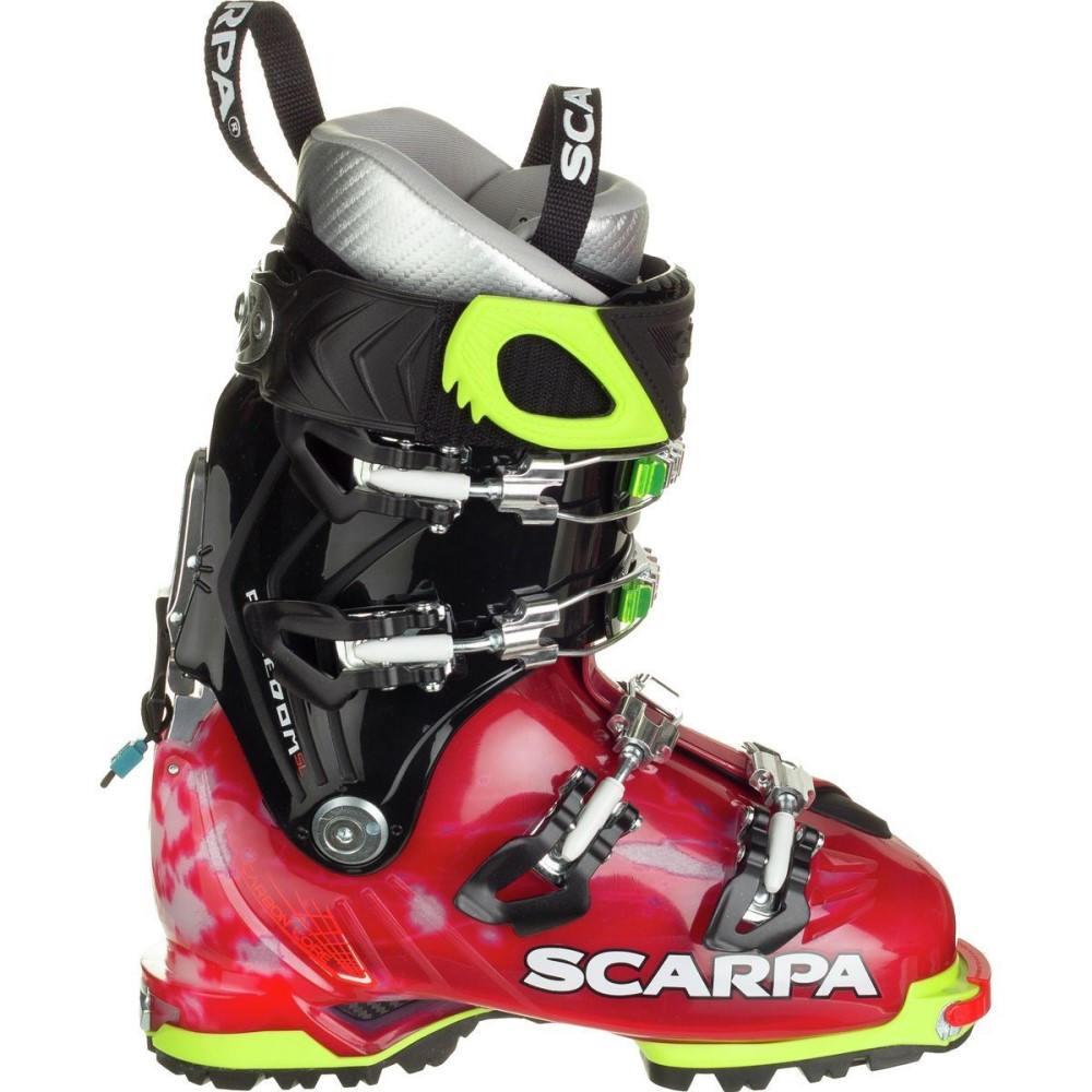 スカルパ レディース スキー・スノーボード シューズ・靴【Freedom SL Alpine Touring Boot】Scarlet/White