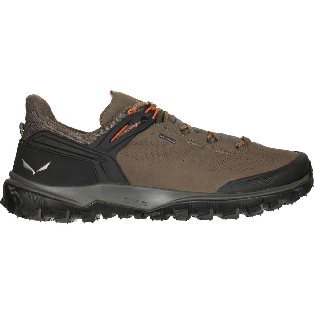 サレワ メンズ ハイキング・登山 シューズ・靴【Wander Hiker GTX Shoes】Walnut/New Cumin
