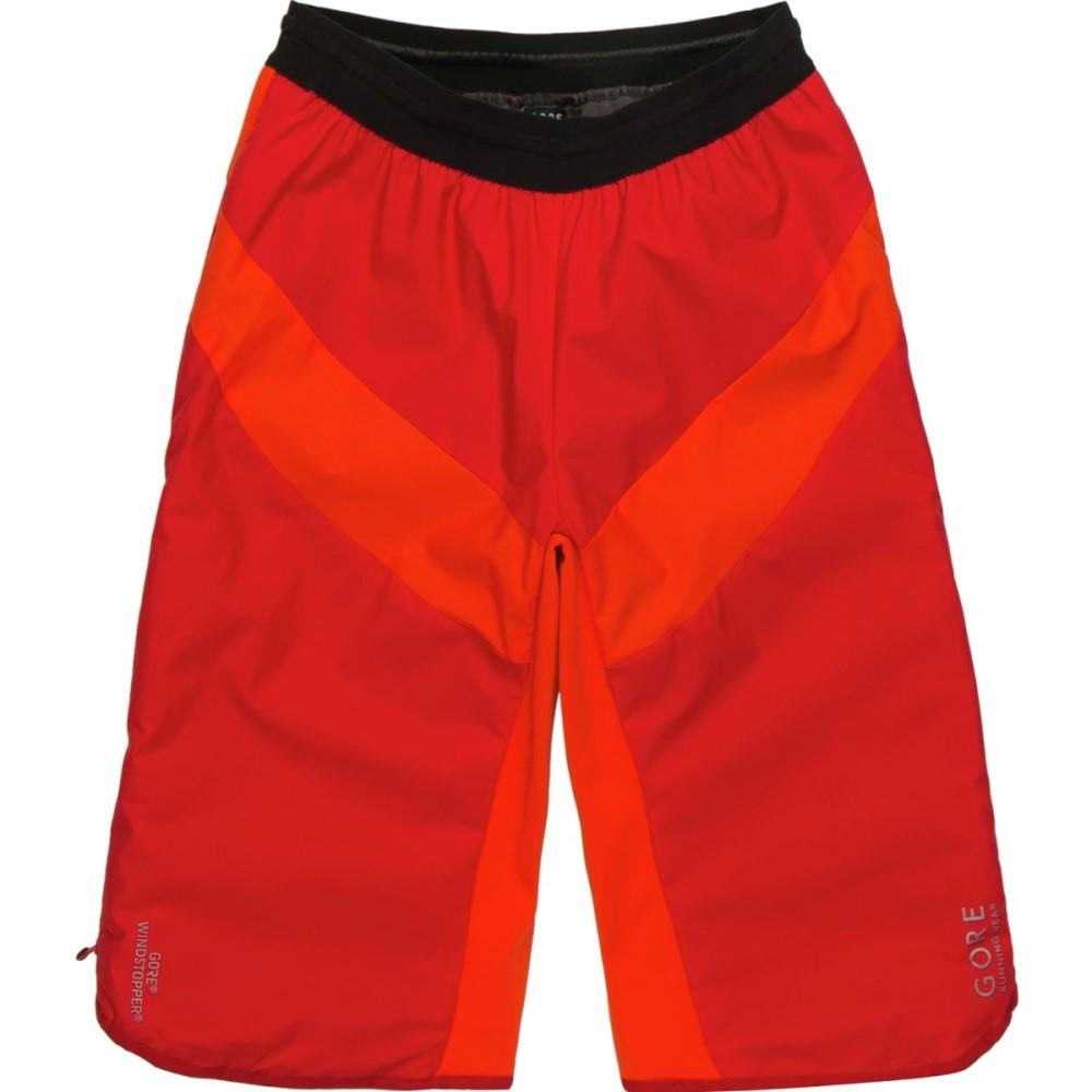 ゴアランニングウェア メンズ フィットネス・トレーニング ボトムス・パンツ【Essential Gore Windstopper Insulated Shorts】Red/Orange.com