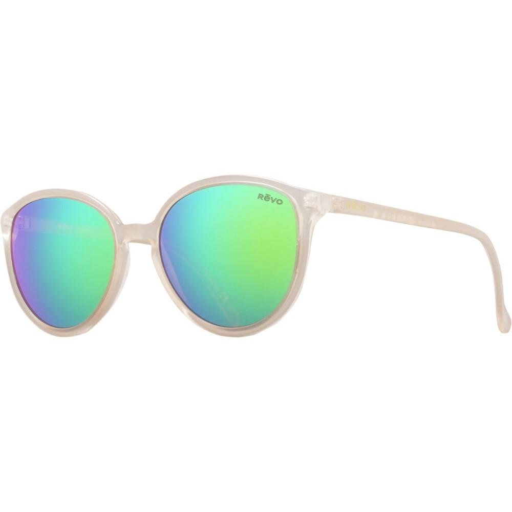 レヴォ レディース メガネ・サングラス【Greison Sunglasses - Polarized】Matte Sand/Green Water