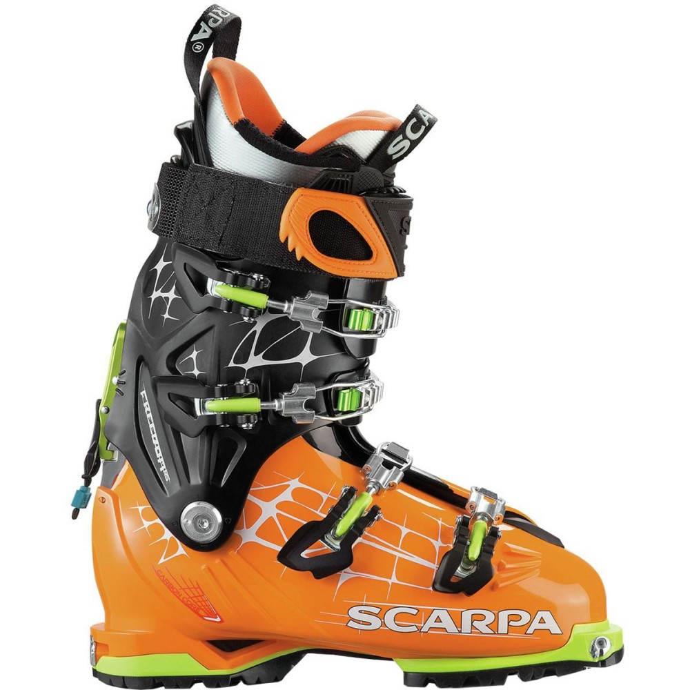 スカルパ メンズ スキー・スノーボード シューズ・靴【Freedom RS Alpine Touring Boot】Orange/Black