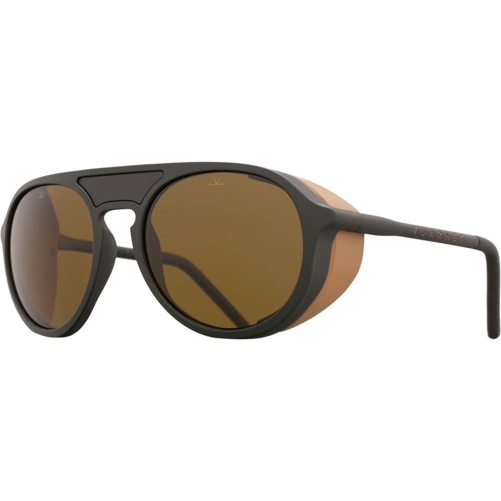 ヴュアルネ レディース スポーツサングラス【ICE Sunglasses - Polarized】Matte Black/ Matte Camel/Black