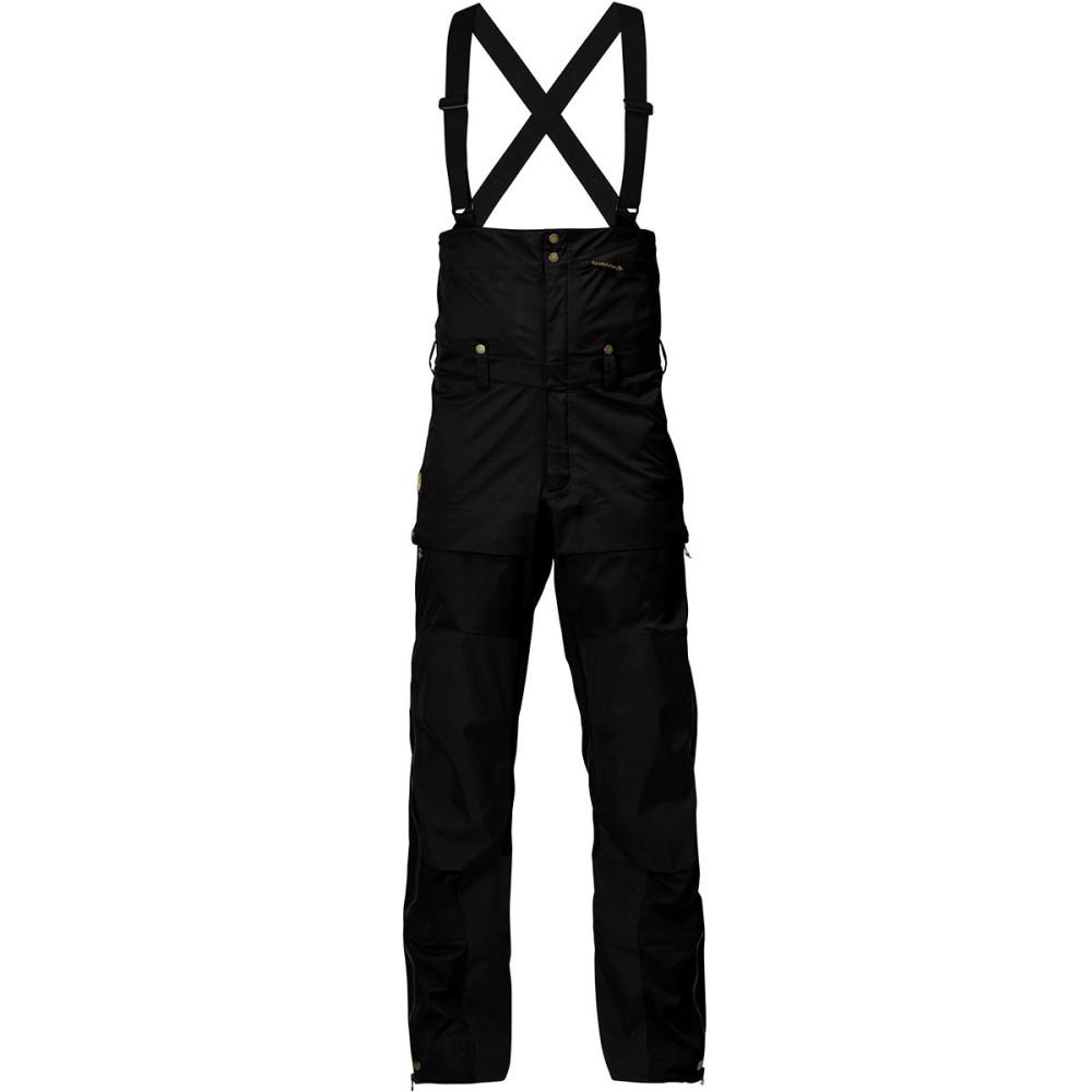 フェールラーベン メンズ スキー・スノーボード ボトムス・パンツ【Keb Eco - Shell Bib Trousers】Black