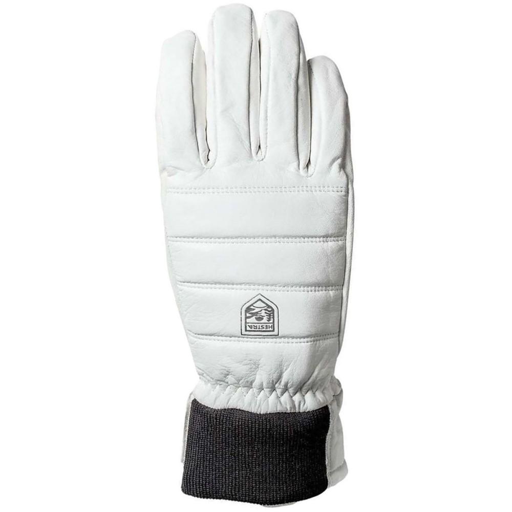 ヘスタ レディース 手袋・グローブ【Alpine Leather Primaloft Glove】Off White