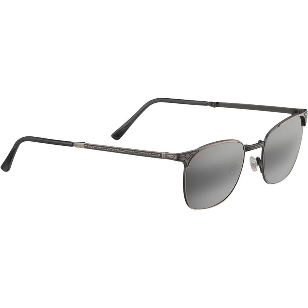 マウイジム レディース メガネ・サングラス【Stillwater Sunglasses - Polarized】Antique Pewter/Neutral Grey
