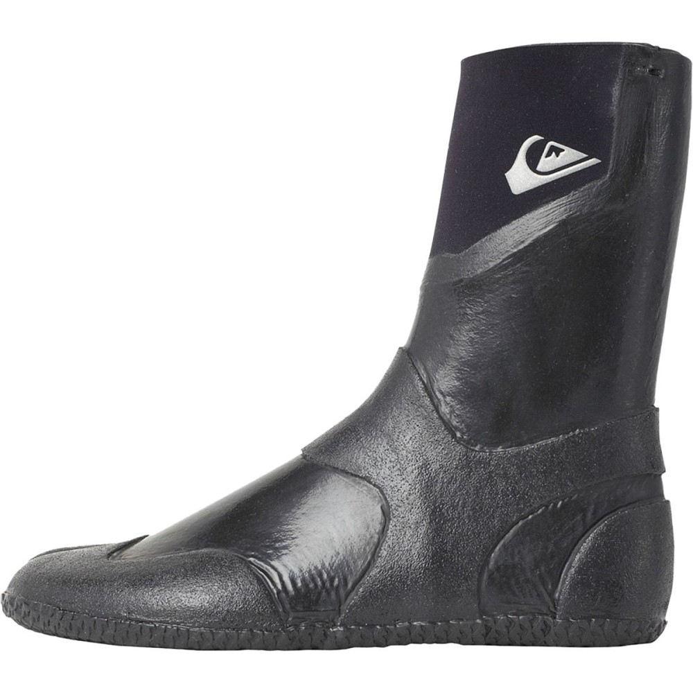 【ご予約品】 クイックシルバー 3mm メンズ サーフィン シューズ・靴【Neogoo 3mm Split Booties】Black Toe Toe Booties】Black, eモンズ:e55f57f0 --- canoncity.azurewebsites.net