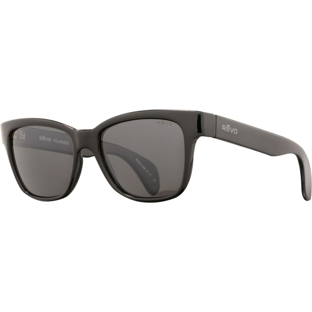 レヴォ レディース メガネ・サングラス【Trystan Sunglasses - Polarized】Shiny Black/Graphite