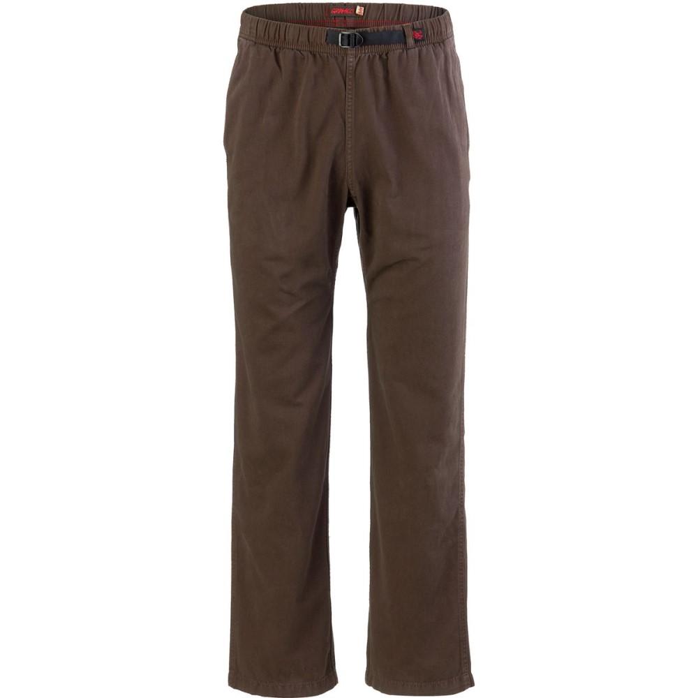 グラミチ メンズ ハイキング・登山 ボトムス・パンツ【Original G Pants】Chocolate Brown