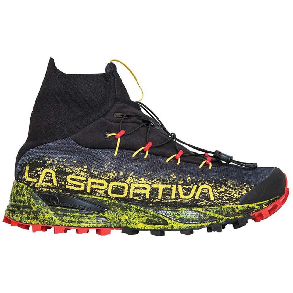 ラスポルティバ メンズ ランニング・ウォーキング シューズ・靴【Uragano GTX Trail Running Shoes】Black/Yellow