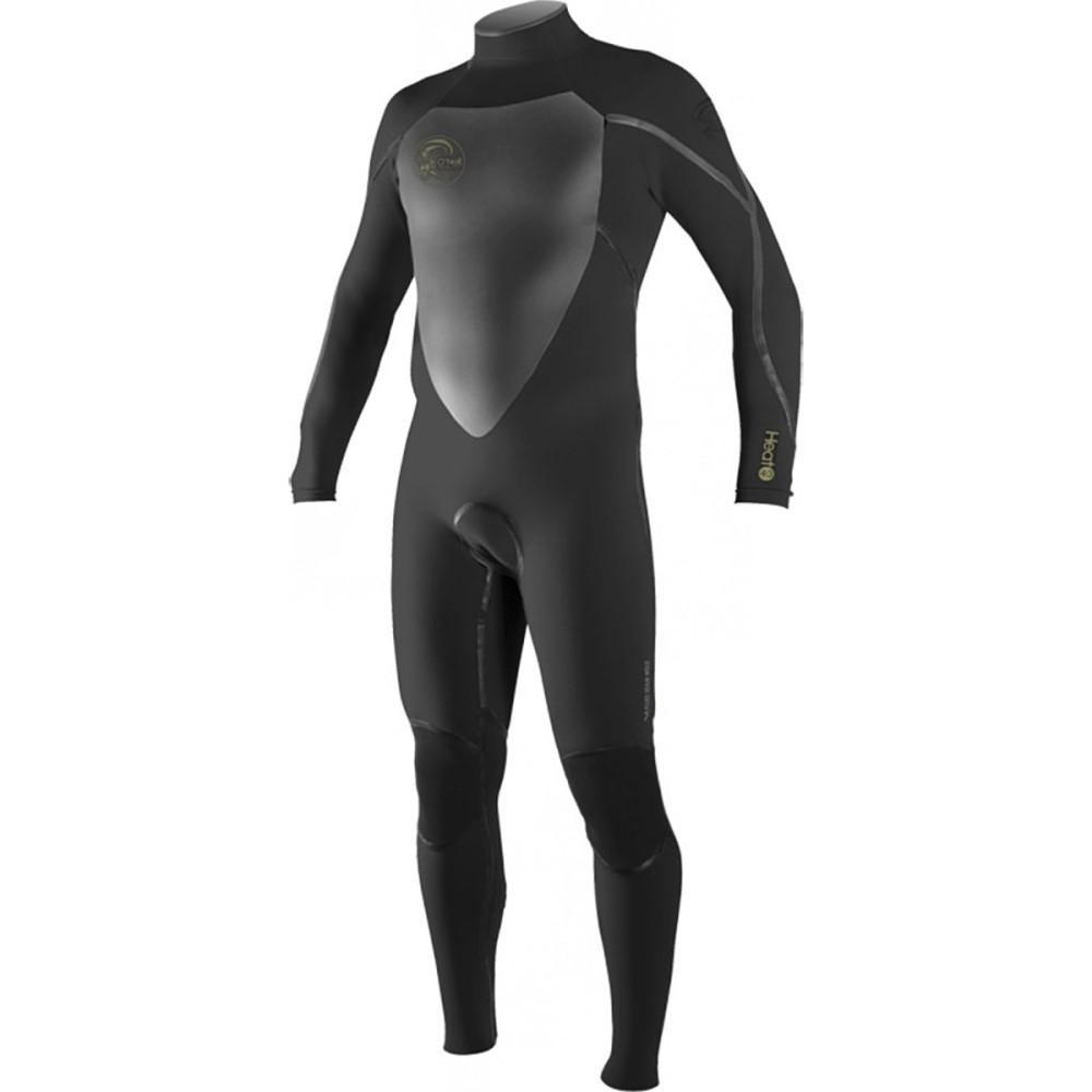 オニール メンズ 水着・ビーチウェア ウェットスーツ【Heat 3/4 - Zip FSW 4/3 Full Wetsuits】Black/Black