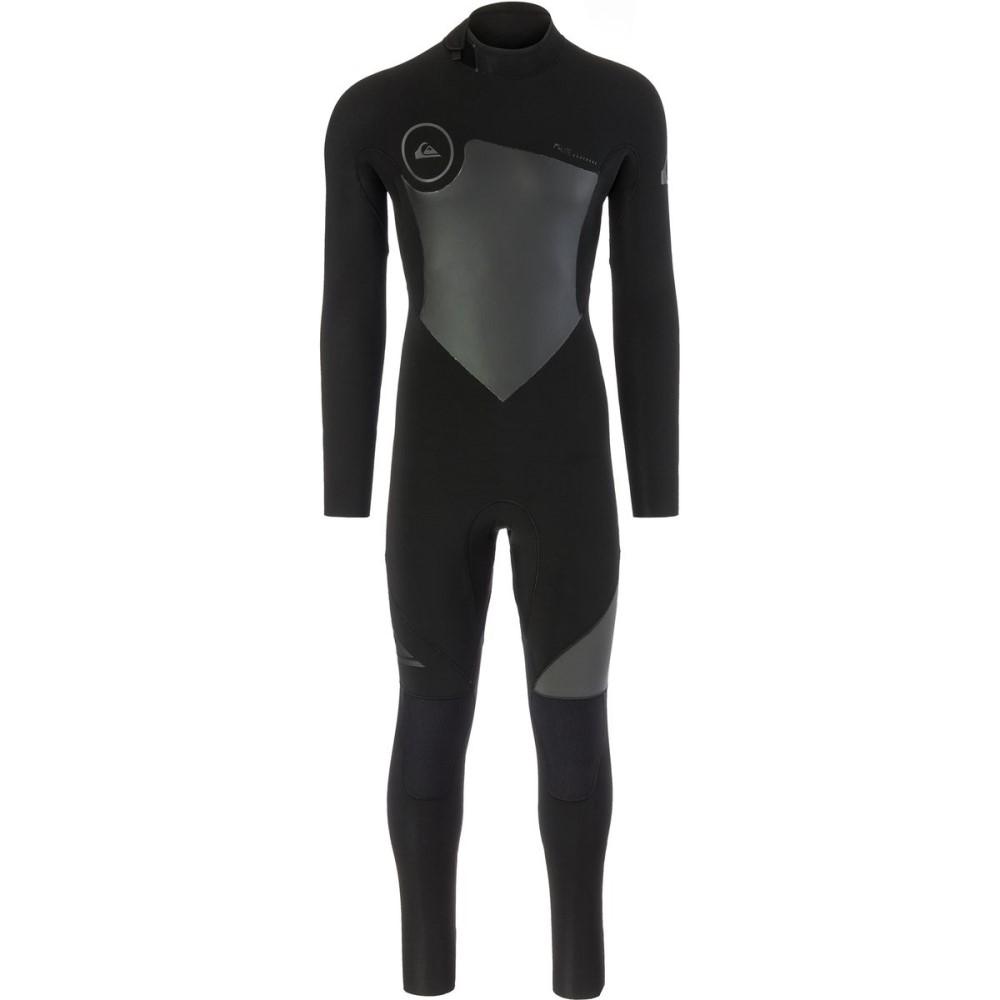 クイックシルバー メンズ 水着・ビーチウェア ウェットスーツ【4/3 Syncro Back Zip GBS Wetsuits】Black/ Black/ Jet Black