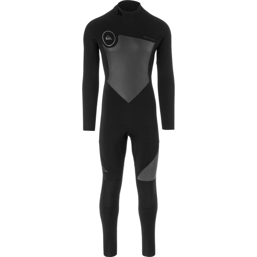 クイックシルバー メンズ 水着・ビーチウェア ウェットスーツ【3/2 Syncro Back Zip GBS Wetsuits】Black/ Black/ Jet Black