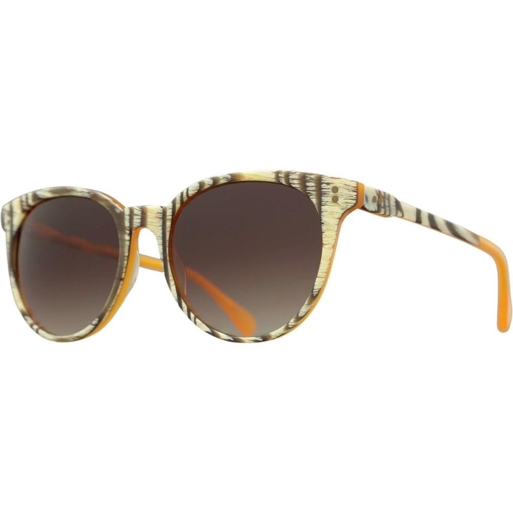ラエンオプティックス レディース メガネ・サングラス【Potrero Sunglasses】Bone/Brown/Rose Mirror