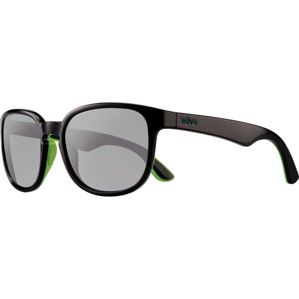 レヴォ レディース メガネ・サングラス【Kash Sunglasses - Polarized】Black/Green/Blue-Graphite
