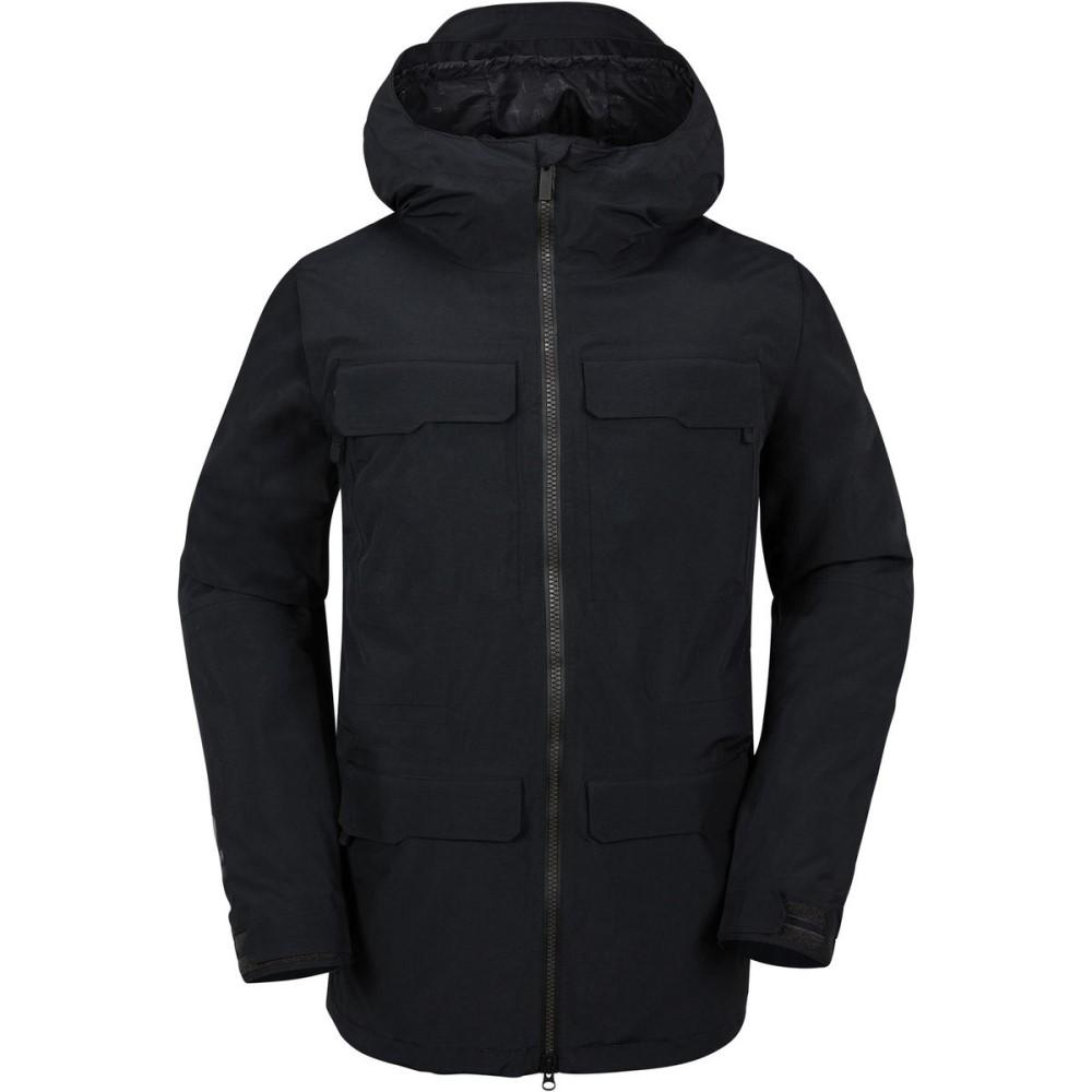 ボルコム メンズ スキー・スノーボード アウター【Stone Gore - Tex Hooded Jackets】Black