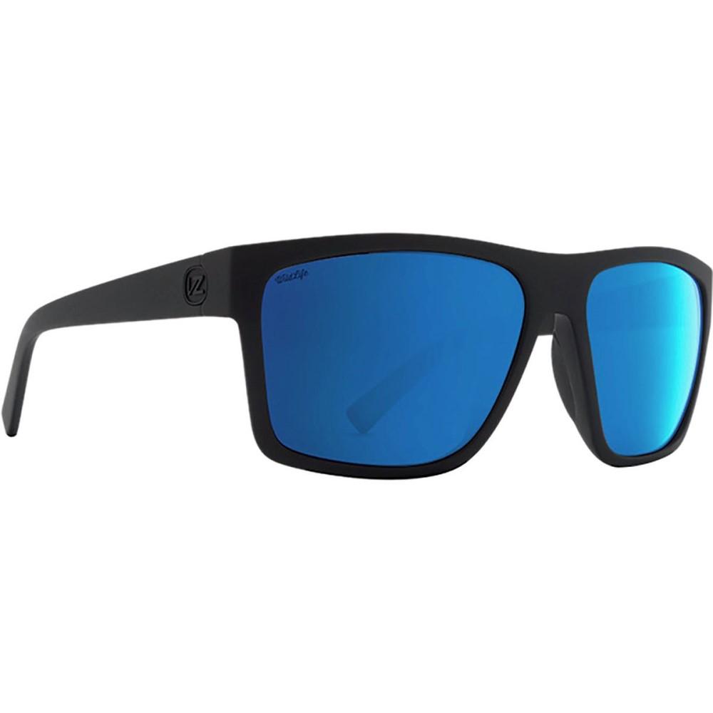 ボンジッパー レディース メガネ・サングラス【Dipstick Wildlife Sunglasses - Polarized】Black Satin/Wild Blue Flash Polar