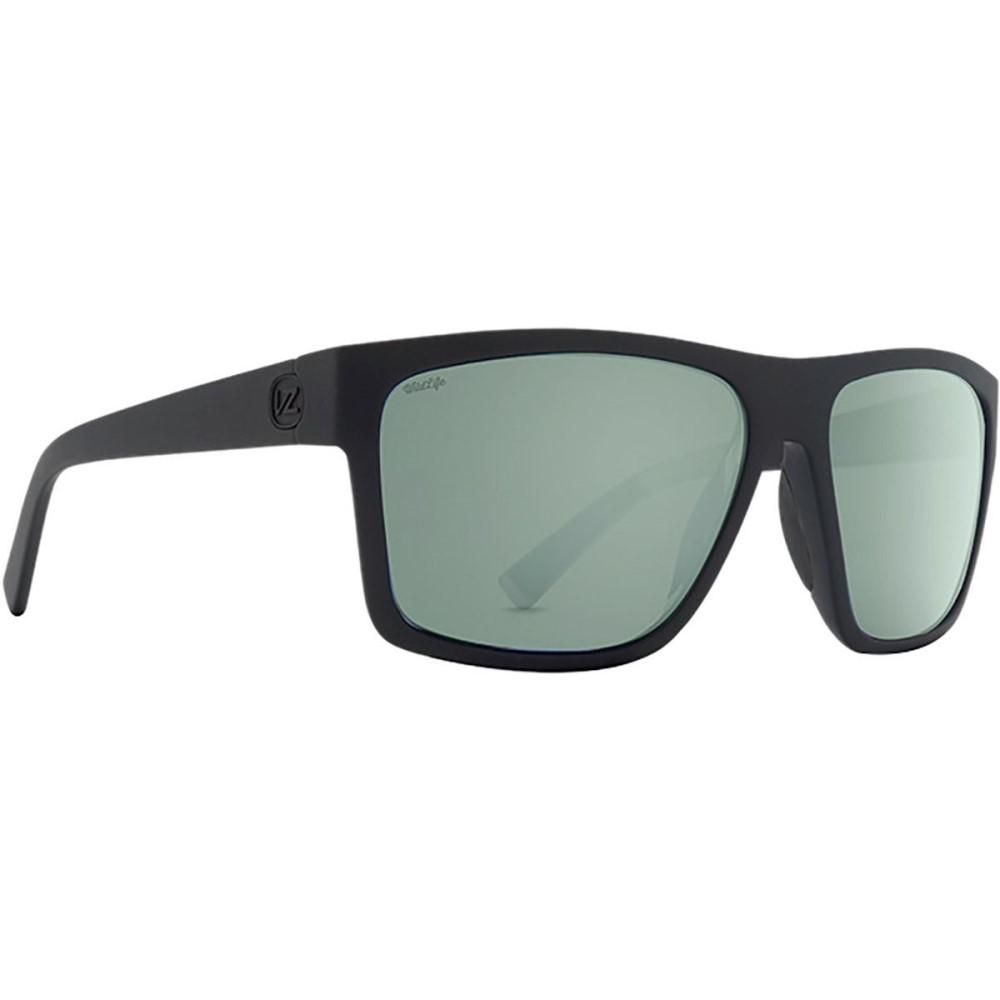 ボンジッパー レディース メガネ・サングラス【Dipstick Wildlife Sunglasses - Polarized】Black Satin/Wild Grey Silver Flash Polar