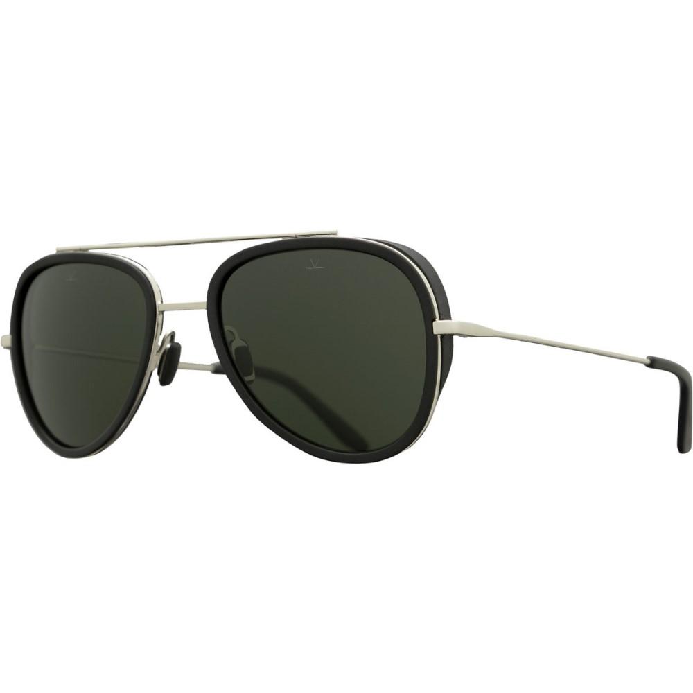 ヴュアルネ レディース メガネ・サングラス【Edge Pilot VL 1614 Sunglasses】Black Matte/Silver/Pure Grey