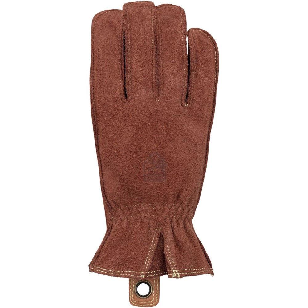 ヘスタ メンズ 手袋・グローブ【Oden Leather Glove】Chestnut