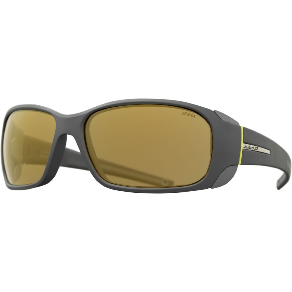 ジュルボ レディース スポーツサングラス【Montebianco Zebra Antifog Sunglasses】Gray/Yellow/Zebra