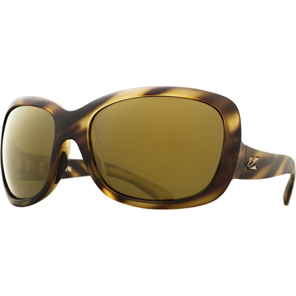 カエノン レディース スポーツサングラス【Avila Sunglasses - Polarized】Driftwood/Brown 12-Polarized Gold Mirror