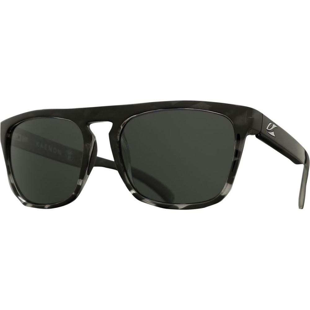 カエノン メンズ メガネ・サングラス【Leadbetter Sunglasses - Polarized】Grey Weave/Grey 12- Polarized
