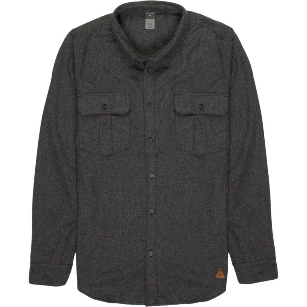 クイックシルバー メンズ トップス シャツ【TR Wooly Flannel Shirts】Grey Heather