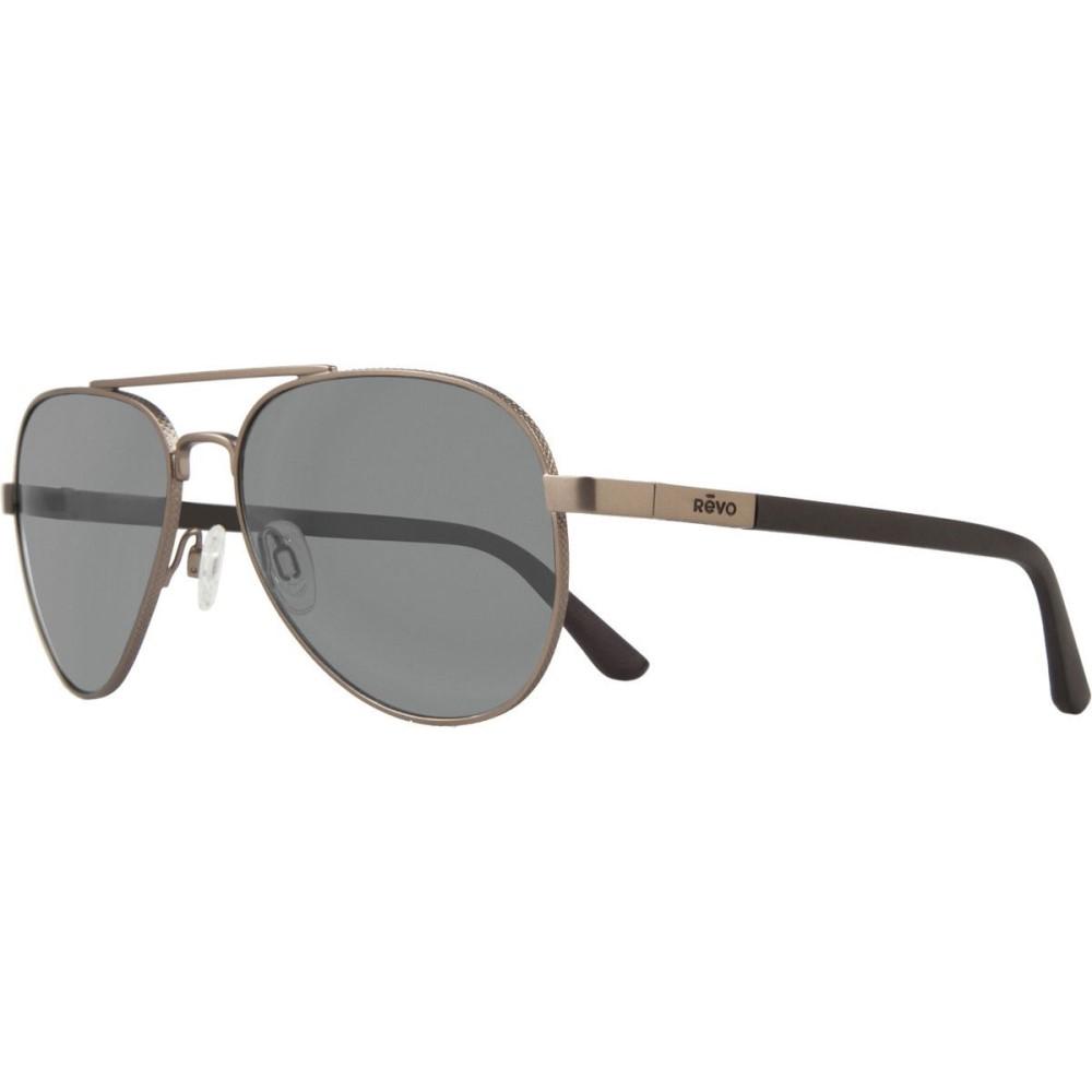 レヴォ メンズ メガネ・サングラス【Raconteur Sunglasses - Polarized】Gun/Graphite