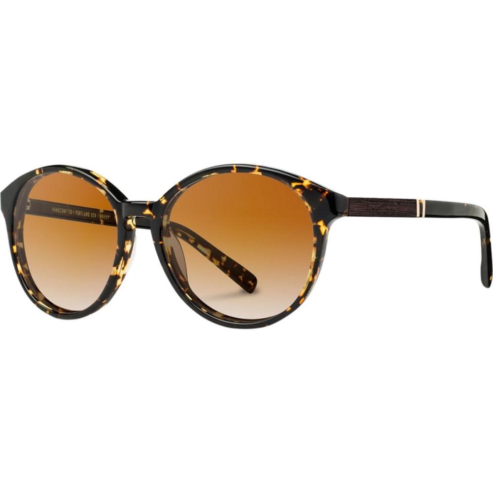 シュウッド レディース メガネ・サングラス【Bailey Sunglasses - Polarized】Dark Speckle/Ebony - Brown Fade