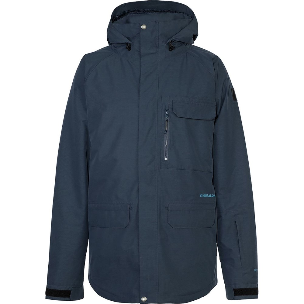 アルマダ メンズ スキー・スノーボード アウター【Atka Gore - Tex Insulated Jackets】Navy