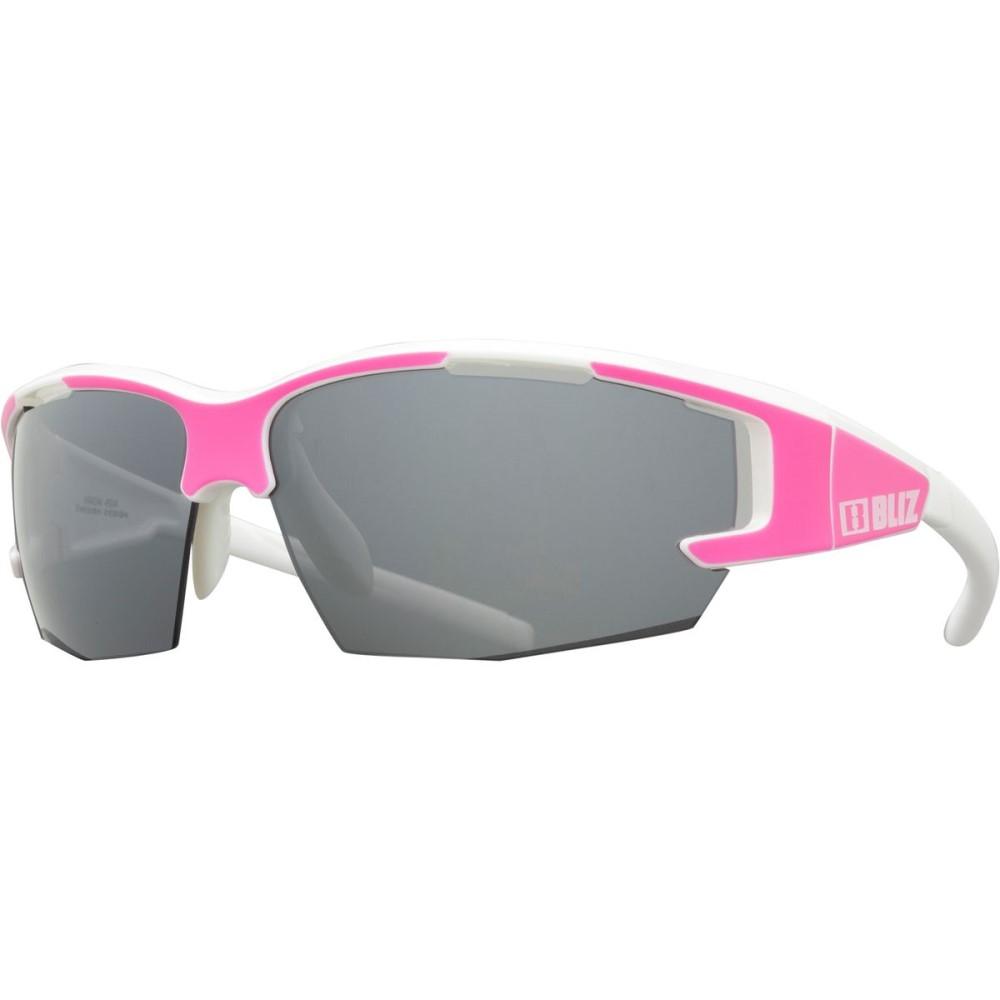 【超特価SALE開催!】 ブリッツ Silver レディース スポーツサングラス【Arrow Sunglasses】Matt P-Shiny Neon P-Shiny White 3/Smoke With Silver Mirror Lenses Cat 3, つかさ石材:833cf5c1 --- supercanaltv.zonalivresh.dominiotemporario.com