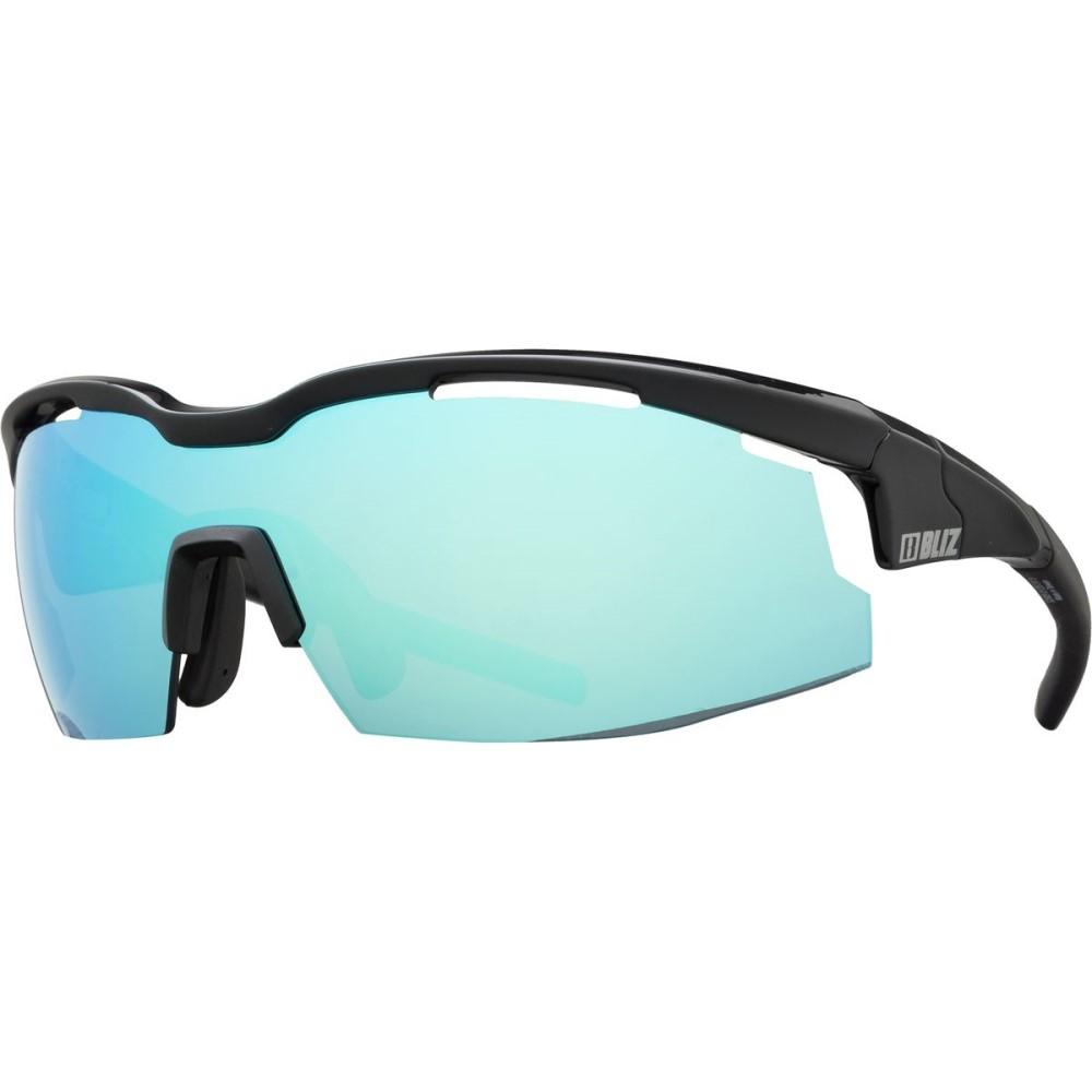 ブリッツ レディース スポーツサングラス【Sprint Sunglasses】Matt Black-Shiny Black/Smoke With Blue Multi Lens Cat 3