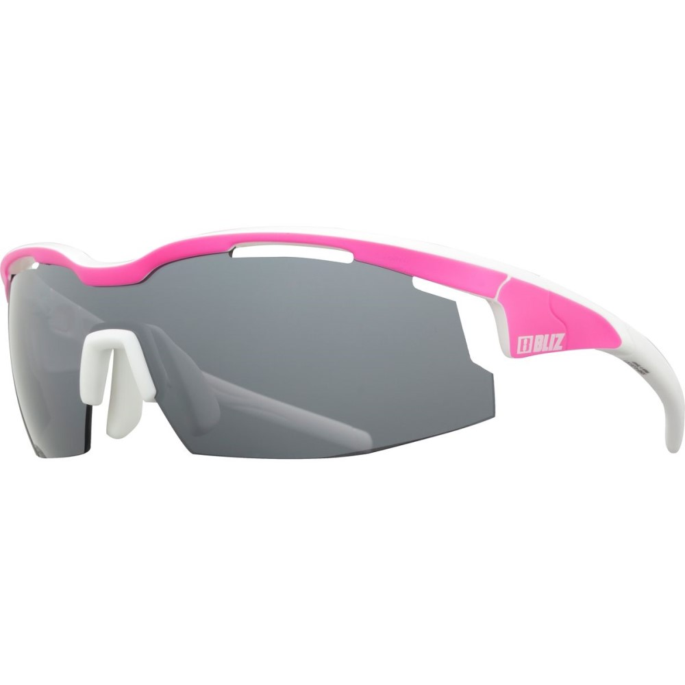 憧れ ブリッツ Mirror レディース スポーツサングラス Neon【Sprint Sunglasses】Matt Neon P-Shiny White White/Smoke/Smoke With Silver Mirror Lens Cat 3, あったらいーな本舗:c5d0c0e5 --- canoncity.azurewebsites.net