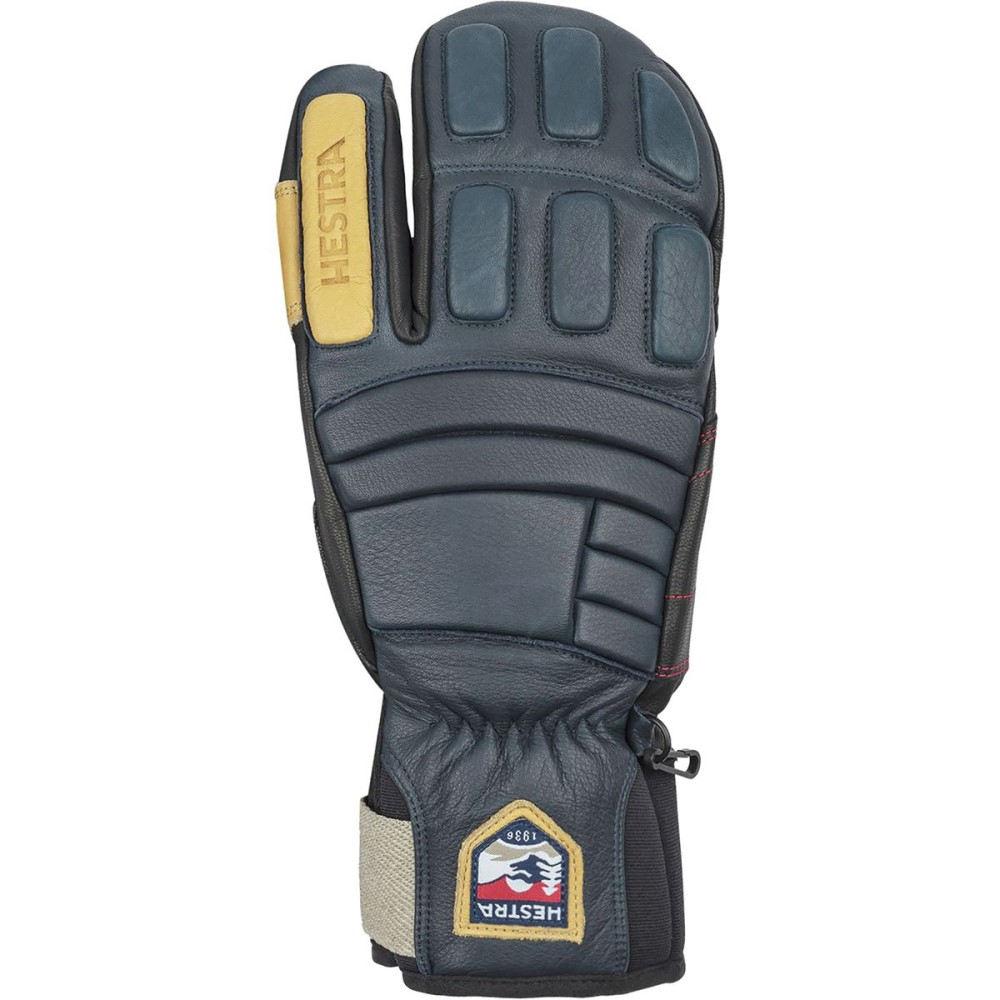 ヘスタ メンズ 手袋・グローブ【Morrison Pro Model 3 - Finger Glove】Navy