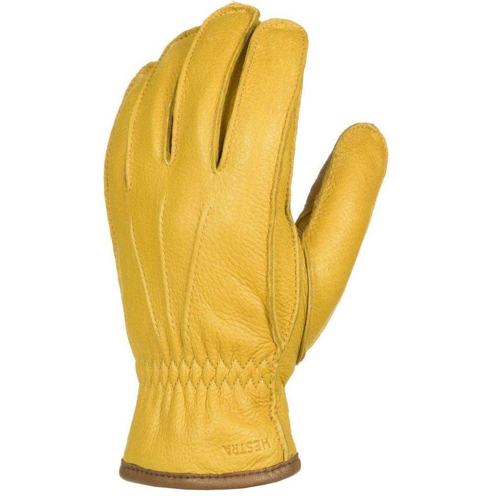 ヘスタ メンズ 手袋・グローブ【Ornberg Glove】Nat Yellow