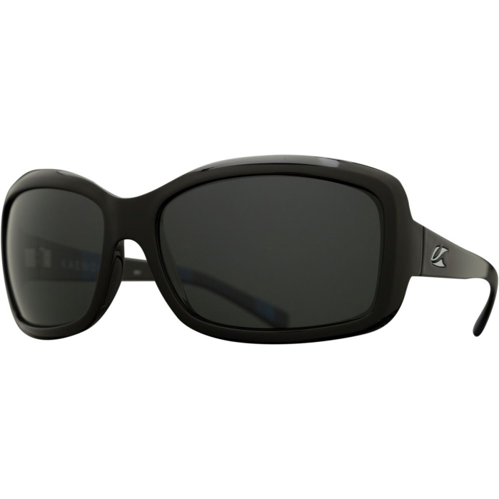 カエノン レディース スポーツサングラス【Lunada Sunglasses - Polarized】Modern Black/Grey 12- Polarized