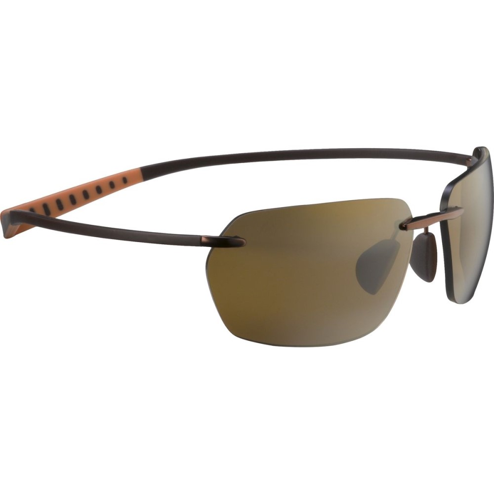 マウイジム レディース メガネ・サングラス【Alaka'i Sunglasses - Polarized】Metallic Gloss Copper/HCL Bronze