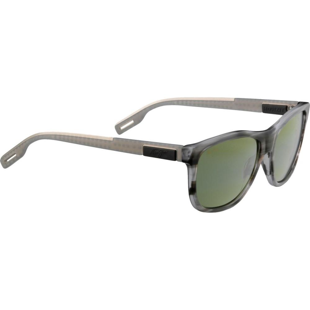 マウイジム レディース スポーツサングラス【Howzit Sunglasses - Polarized】Light Charcoal/Maui Ht