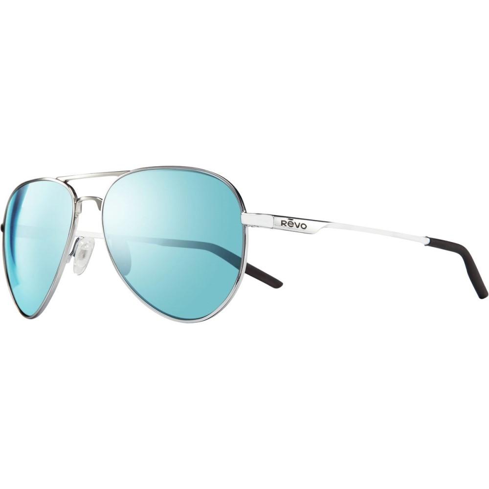 レヴォ レディース メガネ・サングラス【Observer Sunglasses - Polarized】Polished Chrome/Blue Water