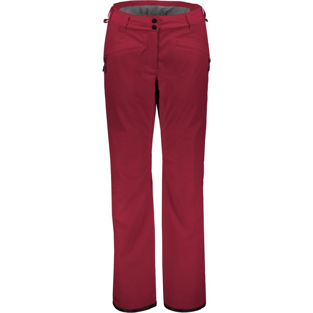 スコット レディース スキー・スノーボード ボトムス・パンツ【Ultimate Dryo 20 Pant】Mahogany Red