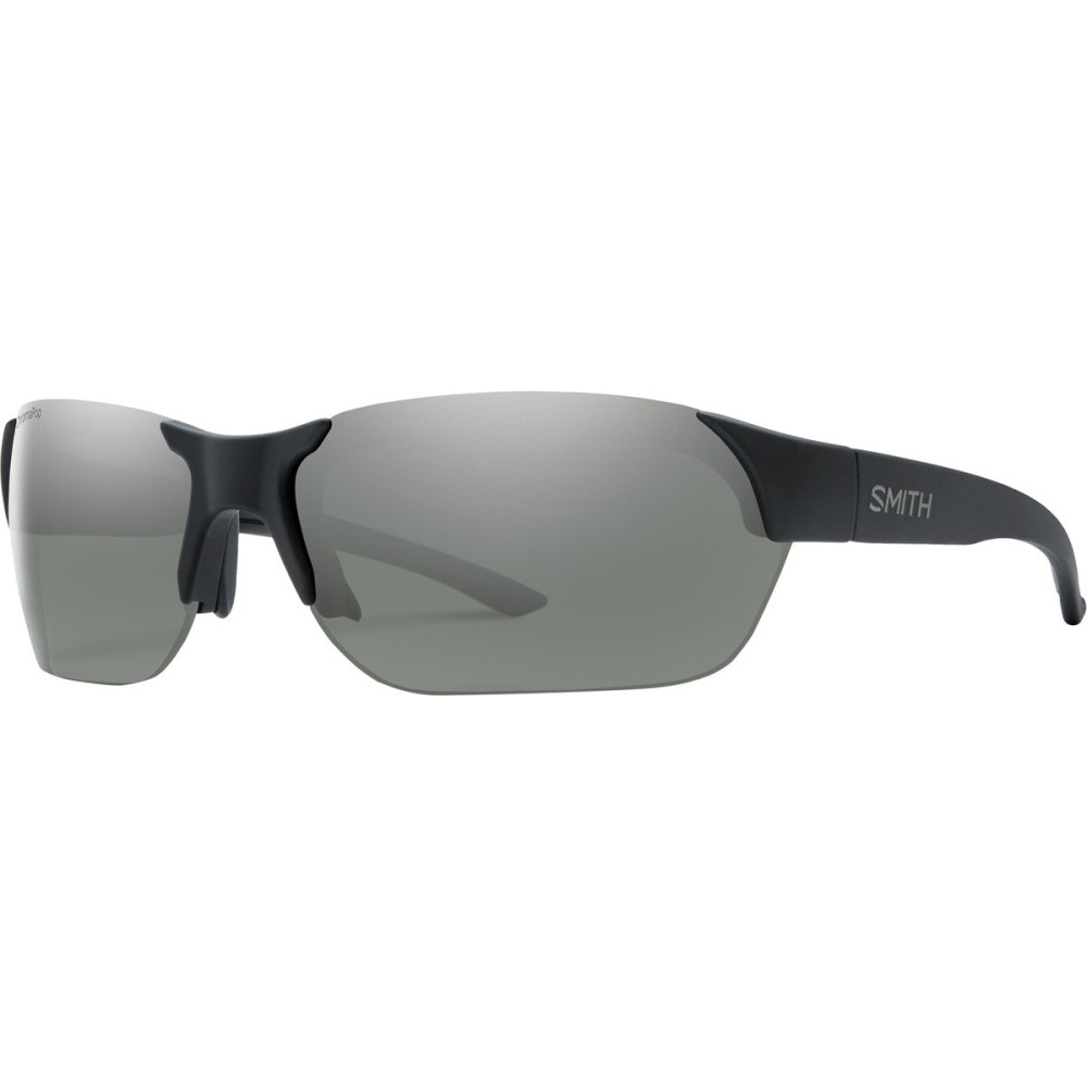 スミス メンズ スポーツサングラス【Envoy ChromaPop Sunglasses - Polarized】Matte Black/Polarized Platinum